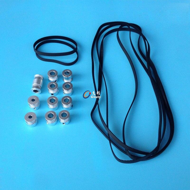 Ultimaker ALLER Calendrier poulie + Courroie de distribution kit pour le BRICOLAGE ultimaker 3D imprimante Gt2 poulie + courroie de distribution kit