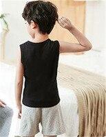 Black Vest andShorts