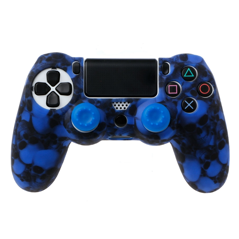 New Gamepad Sleeve Special Silicone Gamepad Cover Case + 2 Joystick Caps For PS4 Pro Slim Controller hot