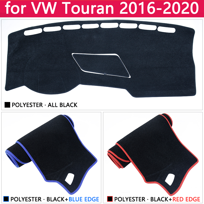 Image 3 - for Volkswagen VW Touran MK2 2016 2017 2018 2019 2020 Anti Slip Mat Dashboard Cover Pad Sunshade Dashmat Protect Car Accessories-in Car Stickers from Automobiles & Motorcycles