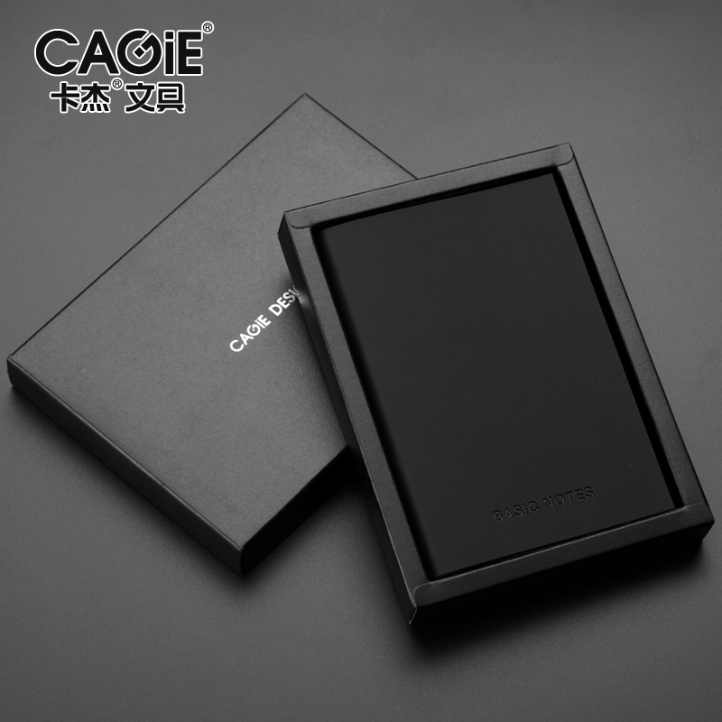 CAGIE a5 a7 Blank Line Page Notebook Leather Vintage Diary Book Small Pocket Planner Sketchbook School