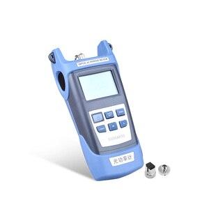 Image 3 - ZHWCOMM palmare SG86AR70 fiber optical power meter 800 ~ 1700nm SC/FC Adattatore fibra ottica macchina di prova