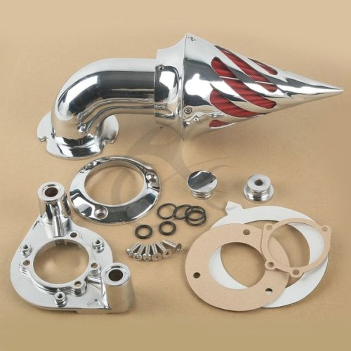 TCMT Motorcycle New Chrome Air Cleaner Intake Filter For Harley Sportster XL 1991-2006 1992 94 TCMT Motorcycle New Chrome Air Cleaner Intake Filter For Harley Sportster XL 1991-2006 1992 94