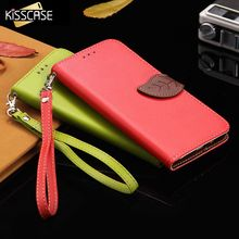 KISSCASE Lychee Skin Leather Case for Samsung J1 J5 J7 2016 Fashion Flip Wallet Case For Samsung Galaxy S7 S6 Edge Plus S5 J5 J7
