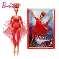 Original Brand Barbie Doll Misty Copeland Colletor Pink Label Actionr Toy Girl Birthday Present Girl Toys Gift Boneca Juguetes