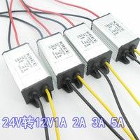 24 V To 12 V DC Transformer Step Down Transformer DC DC Power Supply Module 1