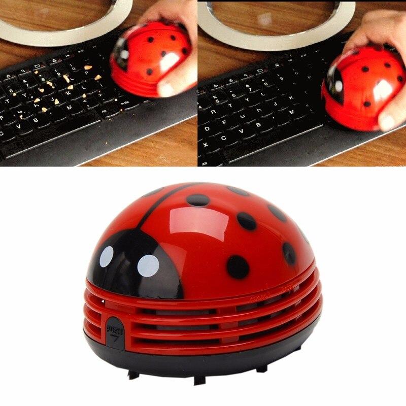 Офис Божья коровка Desktop Кофе Таблица Пылесосы для автомобиля пылесборника