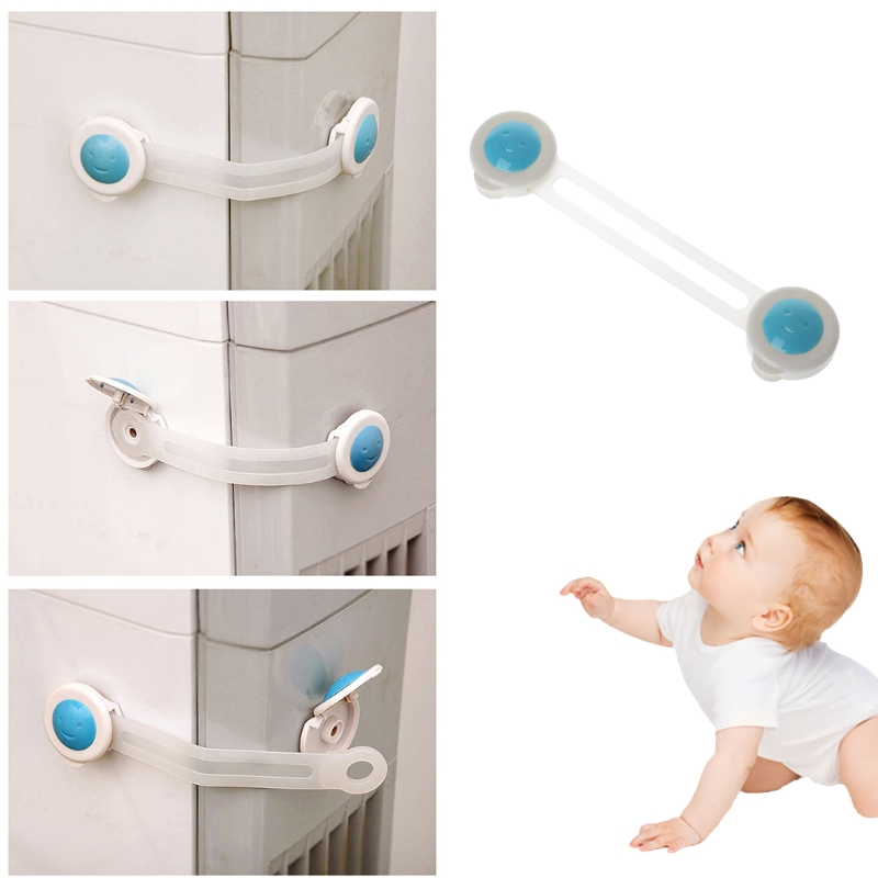 Safety Lock Baby Kids Protection Cabinet Drawer Door Refrigerator Security Care