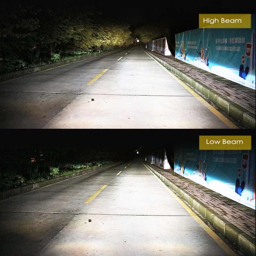 LED Headlight Bulbs H1 H3 H7 H8 H11 H27 880 881 H4 9005/HB3 9006/HB4 Car Auto Fog Lights Automobiles Lamp White 6000K 8000LM 24V