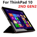 Case For Lenovo ThinkPad 10 GEN 2 Protective PU Smart cover Protector Faux Leather Tablet For ThinkPad10 2ND GEN2 Cover 10.1inch