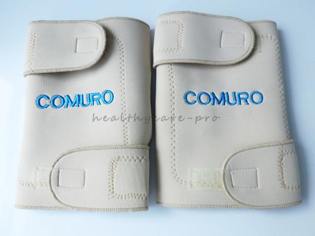 Cinto de turmalina auto aquecimento joelheira Terapia Magnética do joelho apoio turmalina Belt aquecimento Massageador joelho 32 ímã Bege