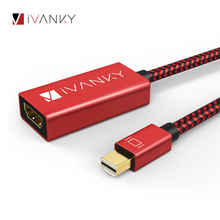 IVANKY 4 K @ 60Hz Mini DisplayPort к HDMI адаптеру Super Slim 4 K Thunderbolt к HDMI адаптеру для MacBook Air/Pro для Surface Pro