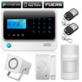 Best 100 Wireless 8 Wired,GSM Alarm System,LCD Screen anti-pet  Home Security Alarm System With IOS and Andriod Control