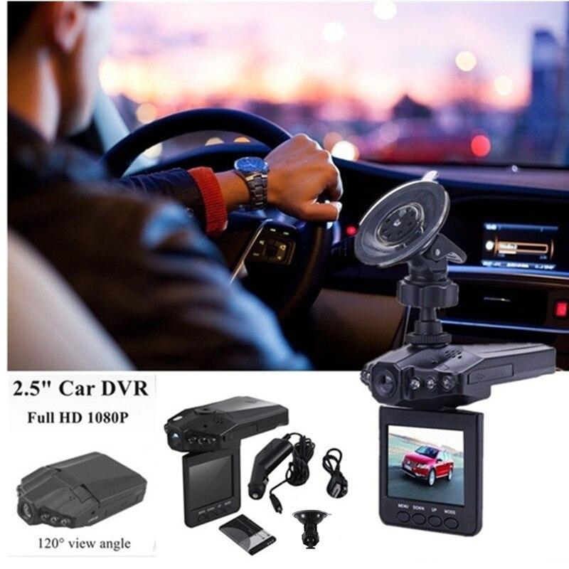 Professional 2.5 Inch Full HD 1080P Car DVR Vehicle Camera Video Recorder Dash Cam Infra-Red Night Vision Top Sale bigbigroad for nissan qashqai car wifi dvr driving video recorder novatek 96655 car black box g sensor dash cam night vision