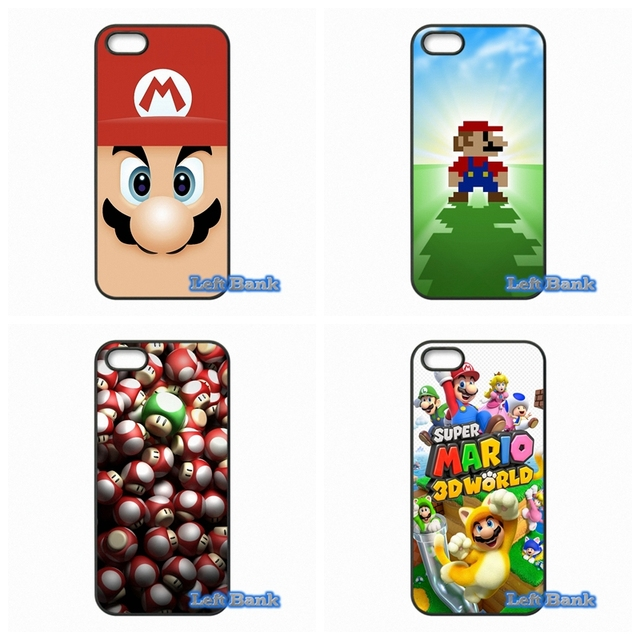 US $4 99 |Hot Super Mario Bros Phone Cases Cover For Huawei Honor 3C 4C 5C  6 Mate 8 7 Ascend P6 P7 P8 P9 Lite Plus 4X 5X G8-in Half-wrapped Case from