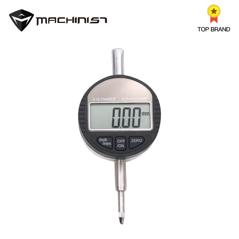 1pc Electronic Thickness Micrometer Digital Thickness Meter Gauge 0.001mm Depth Tester