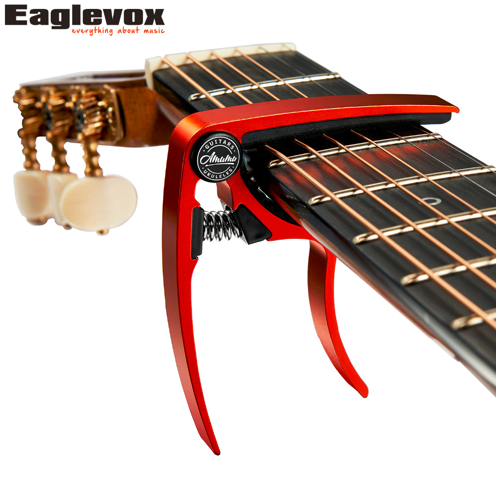 Amumu Aluminum Alloy Guitar Capo Guitarra Capotraste for Acoustic Ukulele Bass Banjo Mandolin FC10 5x 1pc wood folding stand for guitar ukulele mandolin banjo violin
