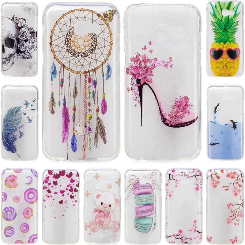 for samsung a3 2017 case transparent soft silicone tpu. Black Bedroom Furniture Sets. Home Design Ideas