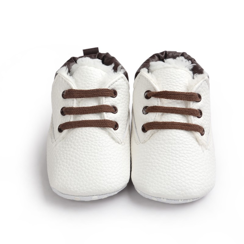 Baby Winter Super Warm Cotton Fabric Shoes Newborn Baby Boys Girls Infant Toddler Soft Rubber Soled