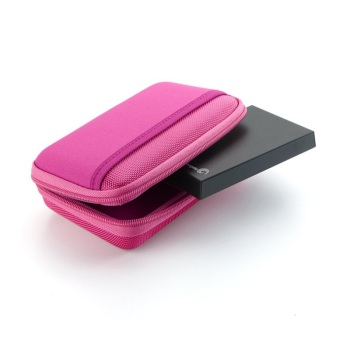 New Colorful Portable Hard Drive Case Bag Pouch for 2.5″ External Hard Drive and Data Cords