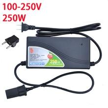 250 Вт Мощность конвертер ac 220 В (100 ~ 250 В) входной dc 12 В 20A Выход Автомобильный адаптер питания прикуривателя