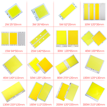 LED 12V Chip COB Led Plate Light Source Bulb 2W-300W Lamp for Home DIY Spotlight Flood Diode 12 v JQ0