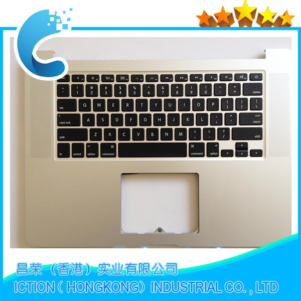 Original US Topcase With Keyboard For Macbook Pro Retina 15 A1398 Top Upper Case MC975 MC976 Mid 2012 Early 2013 661-6532 for macbook pro retina 13 a1502 topcase with keyboard upper top case palmrest us layout late 2013 mid 2014 661 8154