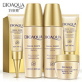 BIOAQUA 5PCS Travel Size Snail Extract Skin Care Kits Hydrating Moisturizing Serum Lotion Toner BB Cream Eye Cream Samples Gift
