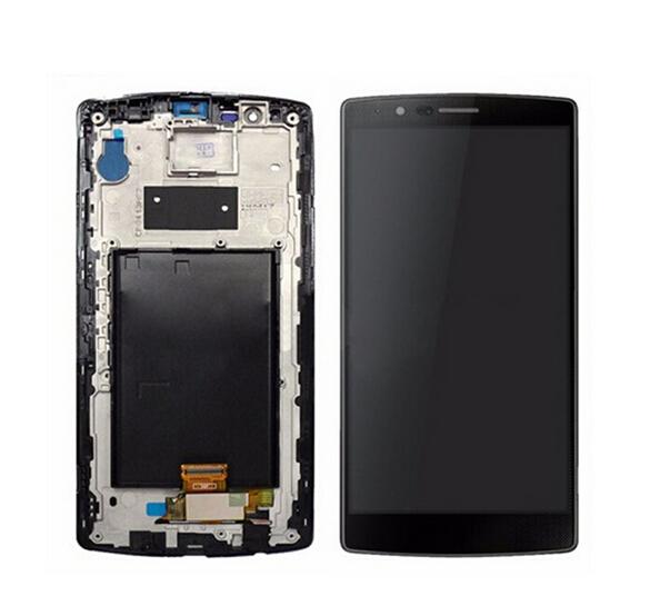 Prix pour Noir Pour LG G4 H810 VS999 Écran LCD Display + Digitizer Écran Tactile En Verre + cadre assemblée livraison gratuite