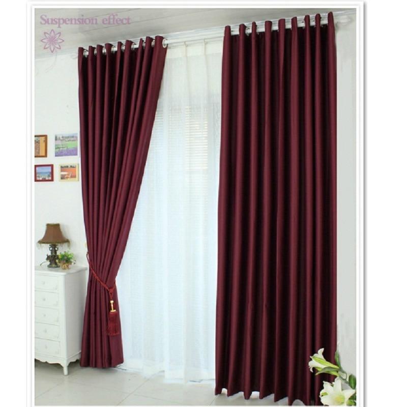 Compra cortinas rojas cocina online al por mayor de China ...