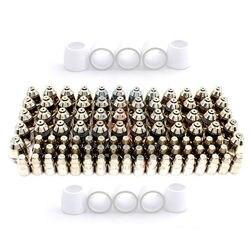 Cortadora de Plasma P80 Inverte, consumibles para Plasma, accesorios de antorcha, puntas de boquilla, electrodo, cuchillo de corte CNC 110PK
