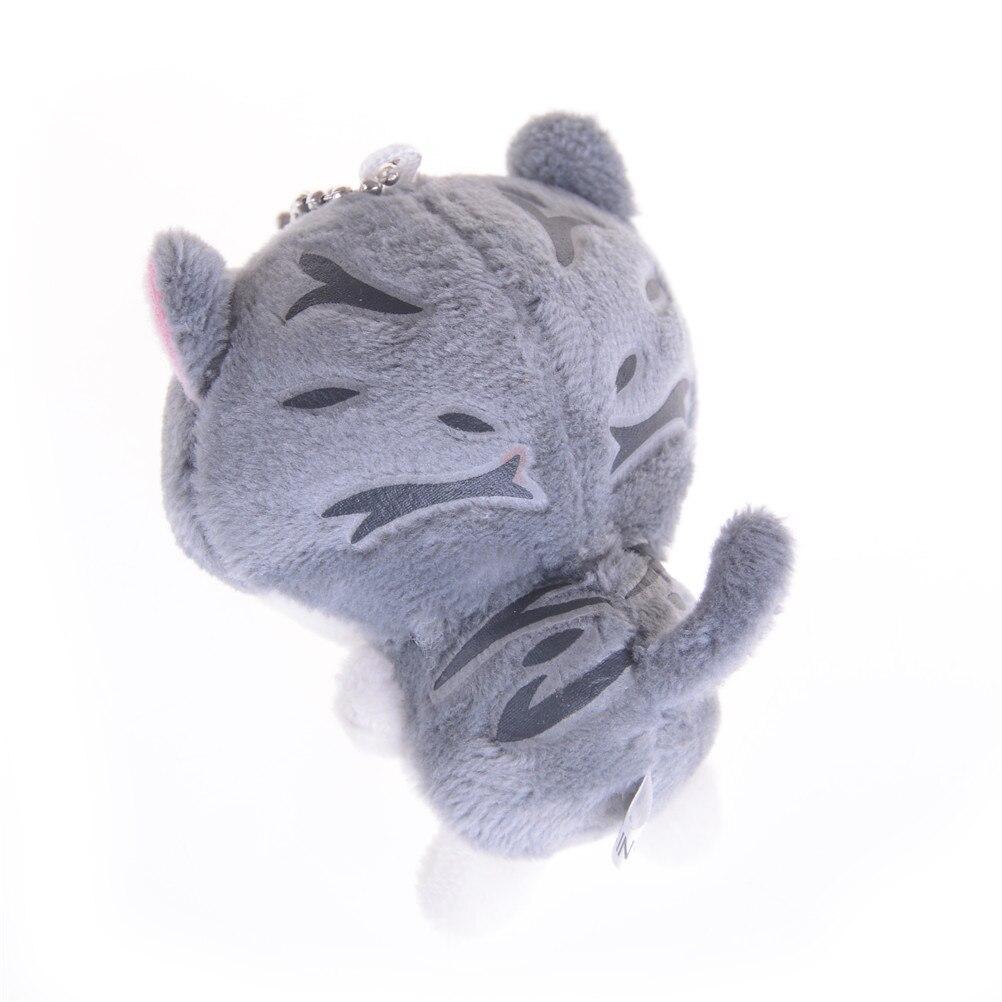 8 см милый кот дворе Кот плюшевые игрушки мяу Collection мини мягкие куклы кулон Лидер продаж