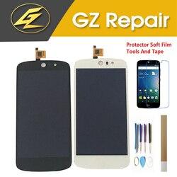 5.0 Cal do wyświetlacza LCD Acer Liquid Z530 z ekranem dotykowym montaż czujnika digitizera czarny biały kolor z zestawami Ekrany LCD do tel. komórkowych Telefony komórkowe i telekomunikacja -