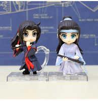 Mo Dao Zu Shi Wei WuXian & Lan WangJi PVC Action Figure Sammlung Modell Niedlichen Spielzeug Puppe