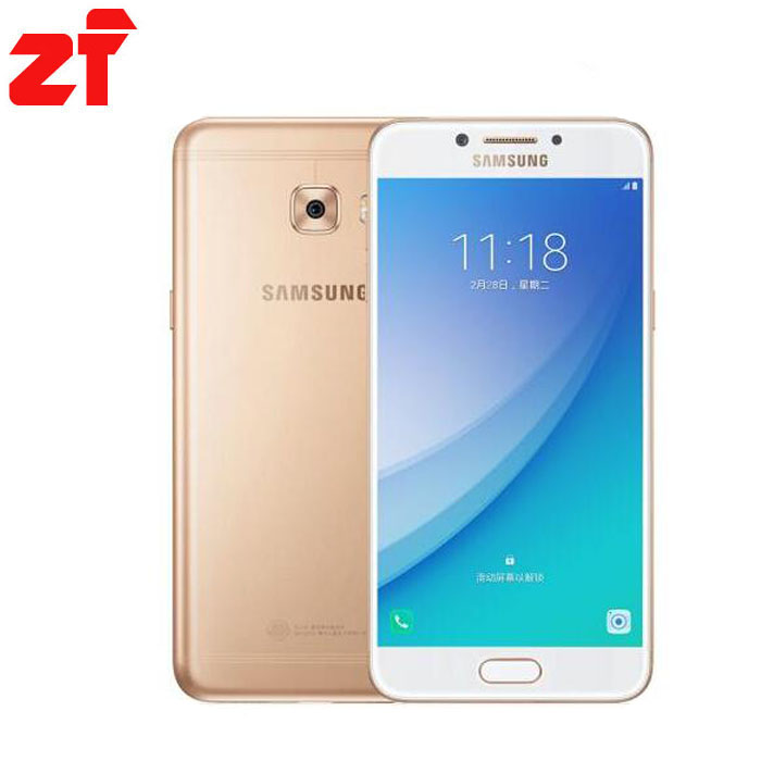 Original New Samsung Galaxy C5 Pro 2017 Mobile Phone C5010 4GB+64GB -in Mobile Phones from