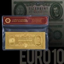 WR 1:1 золотые банкноты, с рамкой COA