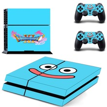 Dragon Quest PS4 Skin Sticker Decal Vinyl for Sony Playstation 4 Console and 2 Controllers PS4 Skin Sticker