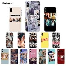 Babaite Little Mix Luxury Unique Design Phone Cover for Apple iPhone 7 6 6S Plus 5 5S SE XR 8 X XS MAX Mobile