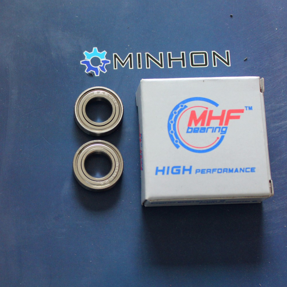 Free Shipping MHF 40Pcs SS6800ZZ Stainless Steel Miniature Deep Groove Ball Bearing 10 19 5 High