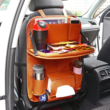 Onever Premium Car Backseat Organizer with Foldable Table