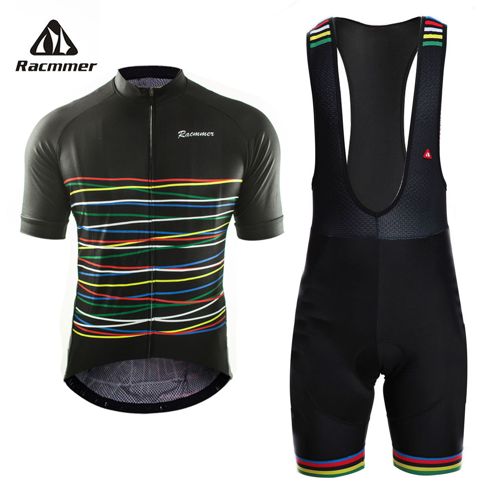 Racmmer 2018 Cycling Jersey Set Mtb Bicycle Clothing Bike Wear Clothes Short Sleeve Maillot Roupa Ropa De Ciclismo Hombre Verano cheji cycling wear ropa ciclismo boys and girls bike short sleeve clothing set bicycle children jersey short set