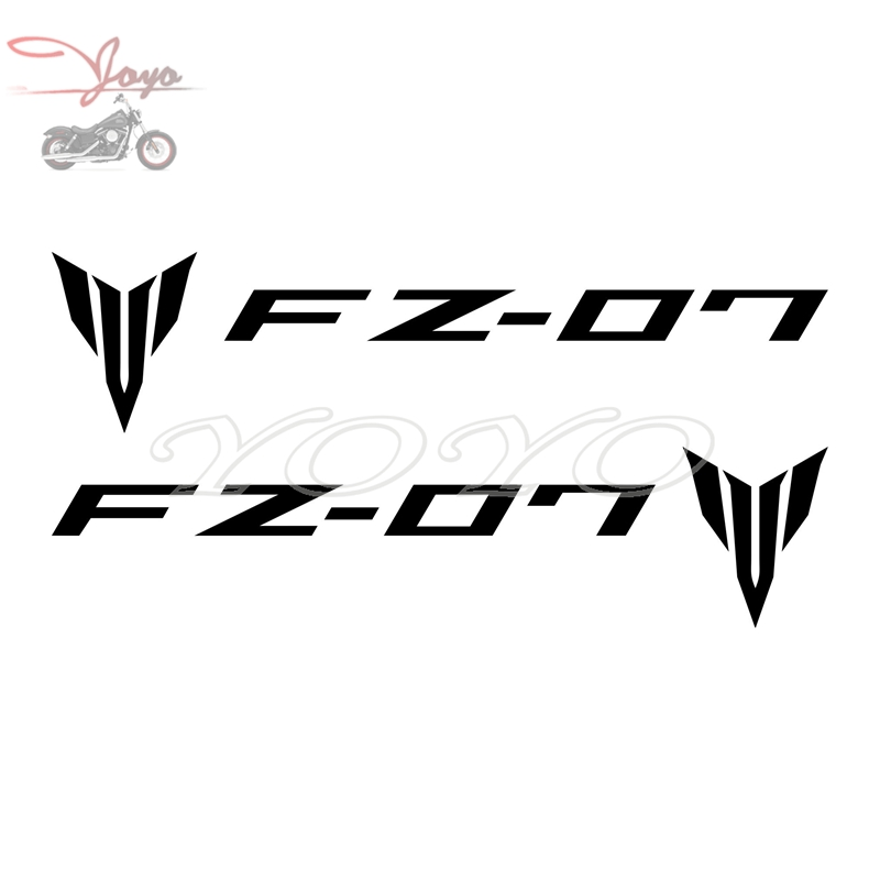Motorcycle Logo Decal Helmet <font><b>Sticker</b></font> Fairing Decals Fender <font><b>Stickers</b></font> Graphic For <font><b>Yamaha</b></font> FZ07 FZ-07 image