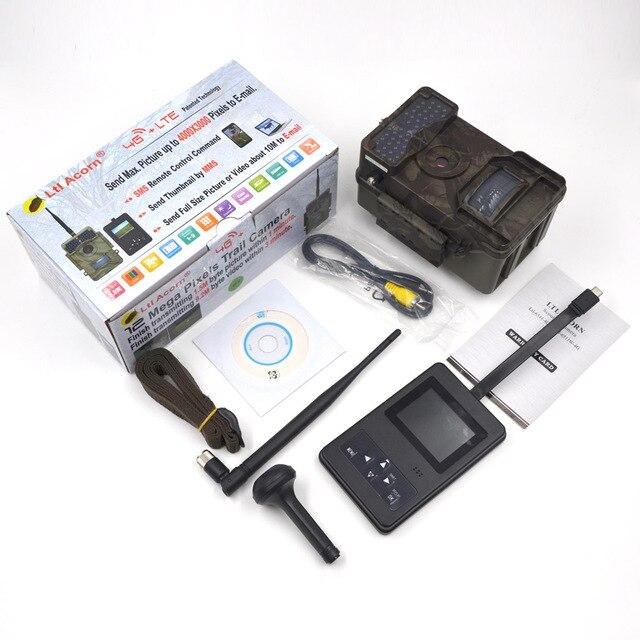 LTL Bellota 6511WMG 4G trampas para fotos GSM MMS Wild Camera trampas 12MP HD 940NM IR Trail Hunting Camera videocámara de exploración impermeable
