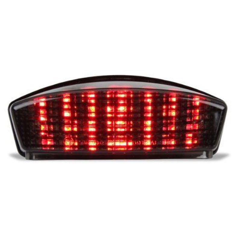 Smoke Red LED Tail Light Turn Signals Fit For Ducati Monster 400 600 1000
