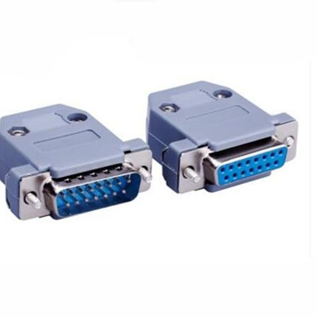 1pcs Parallel Serial Port DB15 15 Pin 15 Way D Sub Fmale/Male Solder