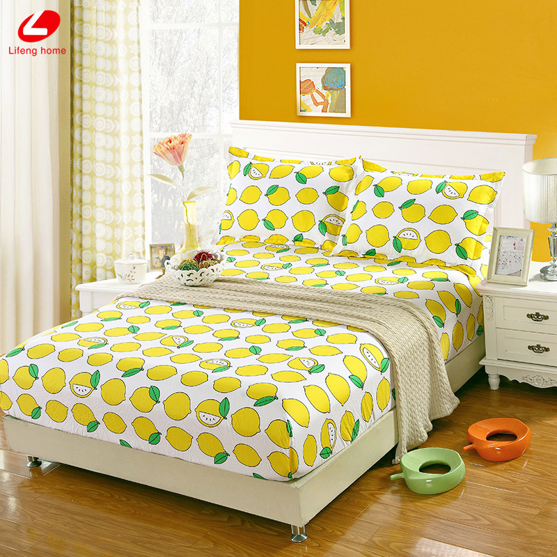 Home textile bed sheet sheet flower mattress cover printing bed sheet elastic rubber bedclothes 180*200cm summer bedspread band 22