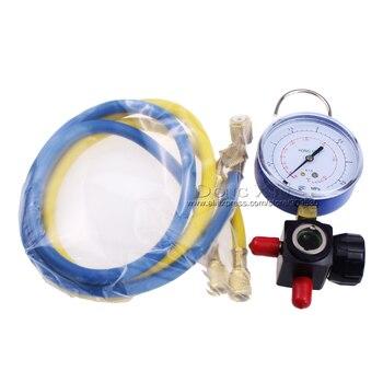 Hvac 1-way manometro HS-470A-R410 Singolo Calibro Per R410 Con 2 pz bassa Pressione Tubo Flessibile Digisix Store