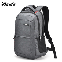 Nice Business Man Backpack Big Gym Travel Bags Rucksack BaiDa Brands Sac A Dos Homme Ordinateur