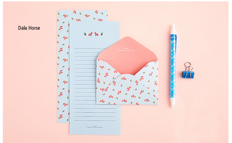 aliexpresscom buy 24 sets of ardium mini animal letter set cute small letter writing paper set for kids from reliable paper wrapping suppliers on