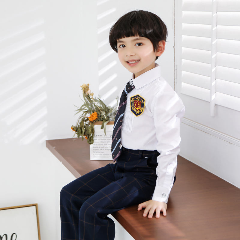 110-160cm New Fashion Primary School Students Class Suit Flower Host Piano Performance Suit Boys & Girl Clothes Set110-160cm New Fashion Primary School Students Class Suit Flower Host Piano Performance Suit Boys & Girl Clothes Set
